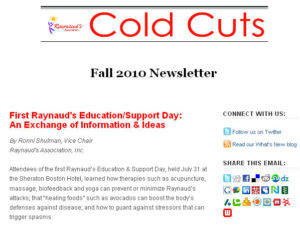 Fall 2010 Email Newsletter Graphic