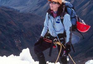 Alison Levine - Climbing Photo