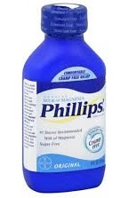 Phillips Milk of Magnesia Bottle