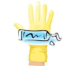 Cream & Glove