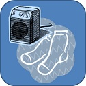 Socks and Heater Graphic