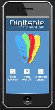 Digitsole Phone App