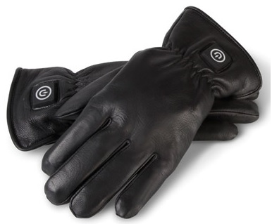 Leather Heated Gloves