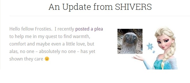SHIVERS' Update