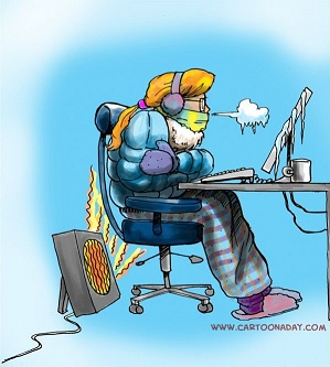 Freezing Office