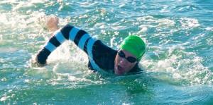 Geoff Chellis - Alcatraz Swim