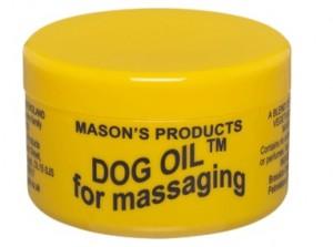 Dog Oil Jar